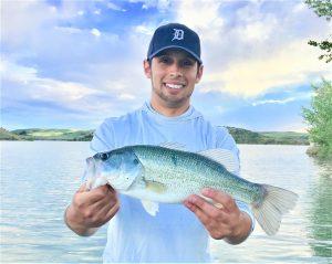 Photo of fisherman Jordan Rodriguez